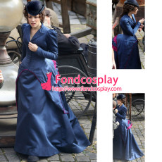 Sherlock Holmes A Game Of Shadows Irene Adler Dress Movie Cospaly Costume Custom-Made[G918]