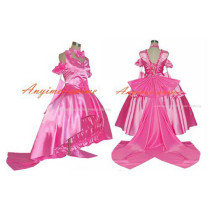 Chobits Freya Chobits Chii Pink Satin Dress Cosplay Costume Tailor-Made[G377]
