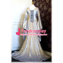 Victorian Rococo Gown Ball Dress Gothic Evening Dress Costume Tailor-Made[G902]