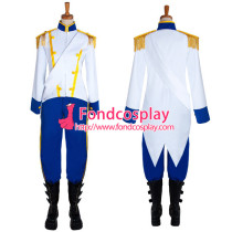 The Little Mermaid Princess The Prince Jacket Pants Movie Cosplay Costume Custom-Made[G655]