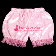 Sissy Maid Satin Bloomers Cosplay Costume Tailor-Made[G2057]