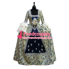Victorian Rococo Medieval Gown Ball Dress Gothic Evening Dress Cosplay Costume Tailor-Made[G955]