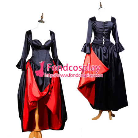 O Dress - The Story Of O - With Bra Satin Tailor-Made[G3718][G3718]