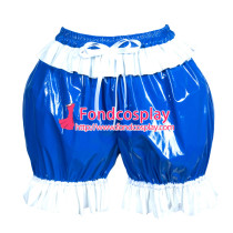 heavy PVC sissy maid bloomers/knickers/ unisex Tailor-made[G3896]