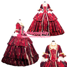 Medieval Victorian ROCOCO Gown Ball embroidered dress Heavy work crystal Tailor-made[G3892]