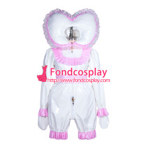 lockable heavy PVC jumpsuits adult sissy baby Unisex cosplay costume Tailor-made[G3901]