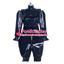 lockable heavy PVC jumpsuits adult sissy baby Unisex costume Tailor-made[G3911]