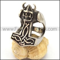 Fashion Stainless Steel Skull Ring  r003431