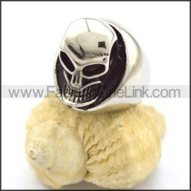 Exquisite Stainless Steel Skull Ring  r001769