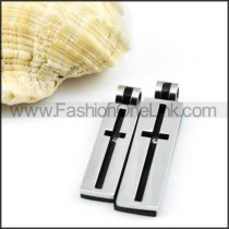 Exquisite Stainless Steel Couple Pendants p000047