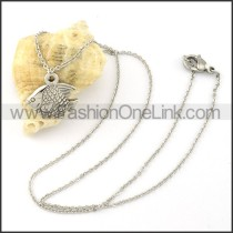 Lovely Fish Fashion Necklace   n000272