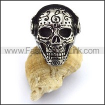 Fashion Stainless Steel Skull Ring  r003435
