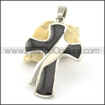 Delicate Stainless Steel Cross Pendant   p001661