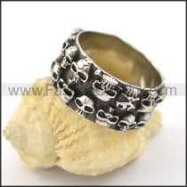 Unique Stainless Steel Ring r001583