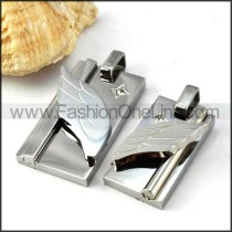 Exquisite Stainless Steel Couple Pendants p000065