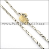 Hot Selling Stainless Steel Fashion Necklace n000527