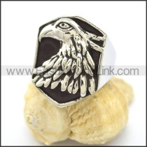 Stainless Steel Biker Ring r002164