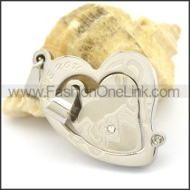 Delicate Stainless Steel Couple Pendant   p002418