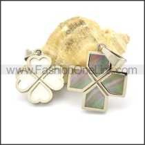 Graceful Stainless Steel Couple  Pendant   p002386