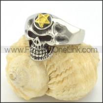 Stainless Steel Fashion Skull Ring r001215