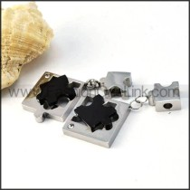 Exquisite Stainless Steel Couple Pendants p000064