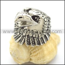 Stainless Steel Biker Ring  r002165