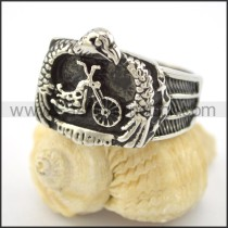 Delicate Stainless Steel Ring r001599