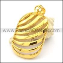 Beautiful Ring Stack Design Stainless Steel Pendant  p000290