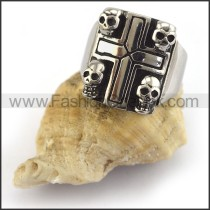 Fashion Stainless Steel Skull Ring  r003437