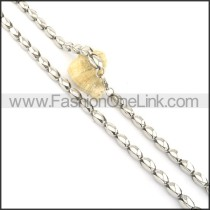 High Quality Stainless Steel Fashion Necklace n000528
