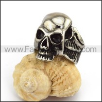 Fashion Stainless Steel Skull Ring   r003570