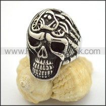 Exquisite Skull Stainless Steel Ring  r001703