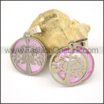 Graceful Stainless Steel Couple  Pendant   p002385