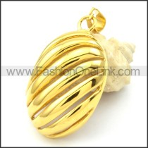 Beautiful Ring Stack Design Stainless Steel Pendant  p000296