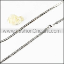 Chic Silver Small Chains       n000113