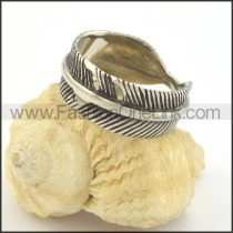 Vintage Feather Ring  r001380