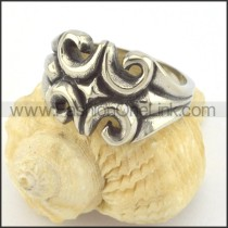 Vintage Stainless Steel Ring r001388