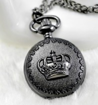 Vintage Crown Pocket Watch Chain PW000022