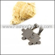 Delicate Stainless Steel Couple Pendants p000037