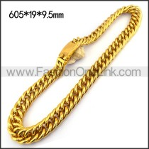 Gold Plated Necklace n001165