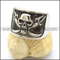 Exquisite Stainless Steel Skull Ring  r001768