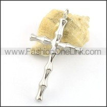 Delicate Stainless Steel Cross Pendant   p001662