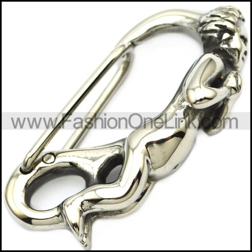Boy Clasp in Stainless Steel a000929