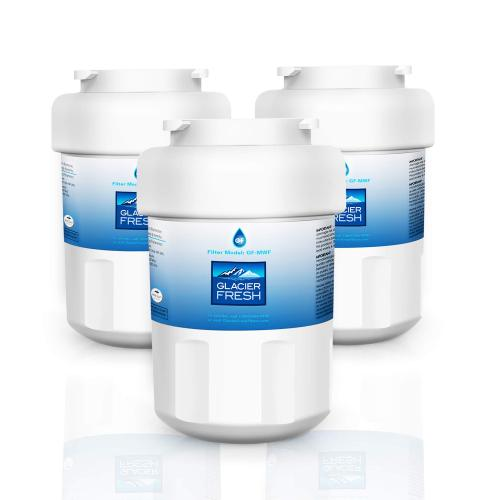GE MWF Water Filter Cartridges NSF 42 Certified, Compatible with GE MWF SmartWater, MWFA, MWFP, GWF, GWFA, Kenmore 9991, 46-9991, HDX FMG-1, WFC1201 etc. (3 Packs)