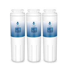 UKF8001 Refrigerator Water Filter, Replacement for Maytag UKF8001, UKF8001AXX, UKF8001P, 4396395, 469006, EDR4RXD1, Filter 4, Puriclean II by Glacier Fresh, Pack of 3