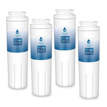 UKF8001 Refrigerator Water Filter, Replacement for Maytag UKF8001, UKF8001AXX, UKF8001P, 4396395, 469006, EDR4RXD1, Filter 4, Puriclean II by Glacier Fresh, Pack of 4
