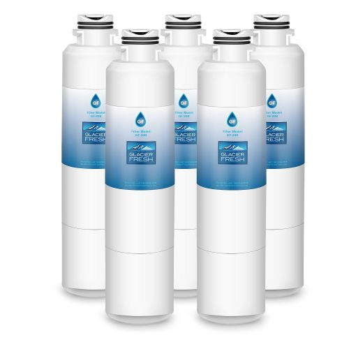 DA29-00020B Refrigerator Water Filter Replacement for Samsung DA29-00020B, DA29-00020A, HAF-CIN/EXP, 46-9101, DA97-08006A, by Glacier Fresh, 5 Packs