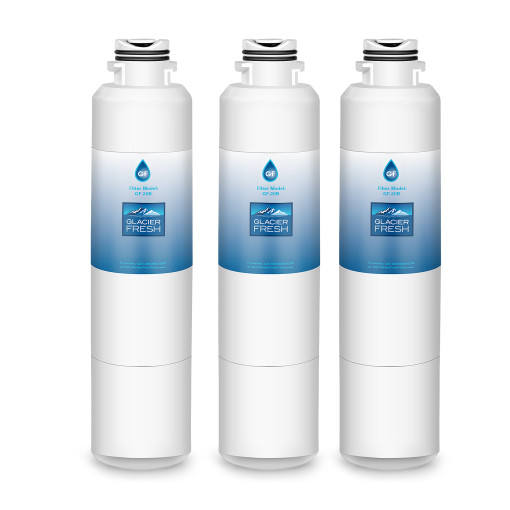 DA29-00020B Refrigerator Water Filter Replacement for Samsung DA29-00020B, DA29-00020A, HAF-CIN/EXP, 46-9101, DA97-08006A, by Glacier Fresh, 3 Packs