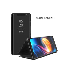 Smart Mirror Flip Case For sony  XZ4 XZ3