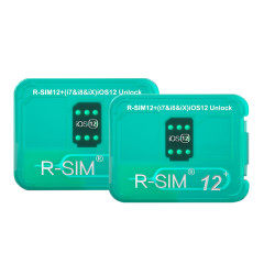 Lot RSIM 12+ V16 2018 R-SIM Nano Unlock Card Fits iPhone X 8 7 6 6s 5S 4G iOS 10-12 ( only for USA version use )